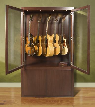 guitar display case